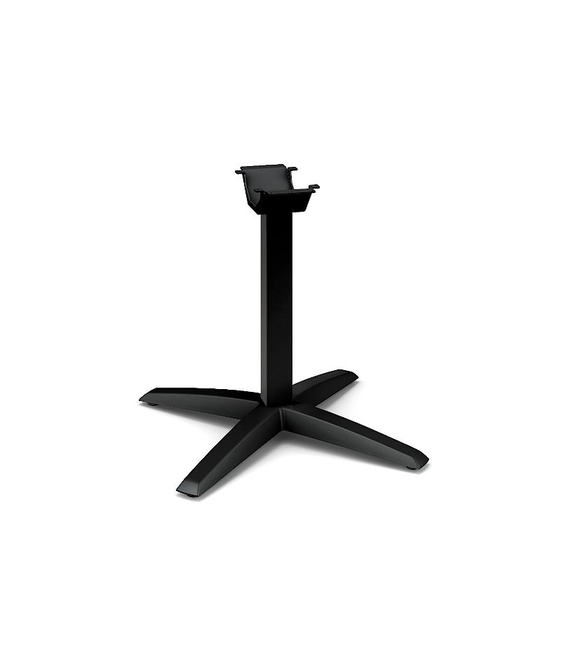 HON Preside Conference Table X Style Base Black HTXLEG.P