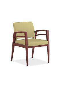 HON Riley Guest Chair Tan Front View HWGN1.N.DX69