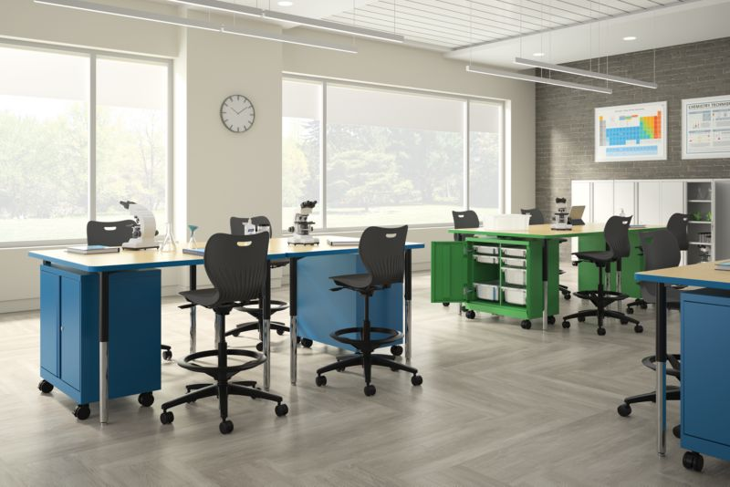Build Student Desks with SmartLink Stools