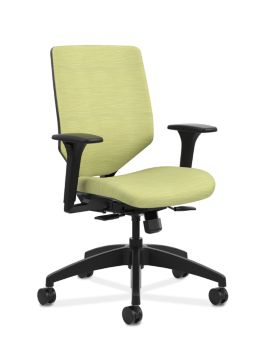 Solve Mid-Back Task Chair with Upholstered ReActiv Back HSLVTMU ...
