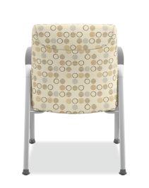 HON Soothe Guest Chair Amuse Quartz Chrome Frame Back View HHCG11.S.SMOMAMU91.P6N