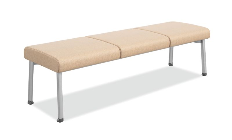 Soothe 3-Seat Guest Bench HHCGB31   HON Office Furniture