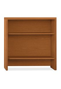 HON Valido Bookcase Hutch Bourbon Cherry Front View H115292.A.HH