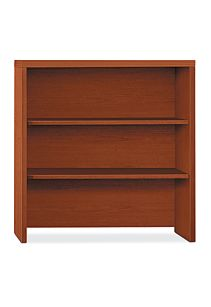HON Valido Bookcase Hutch Brown Front View H115292.A.JJ
