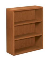 HON Valido Bookcase Bourbon Cherry Front Side View H11553.A.HH