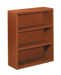 HON Valido Bookcase Brown Front Side View H11553.A.JJ