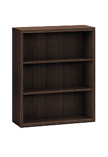 HON Valido Bookcase Dark Brown Front Side View H11553.A.ZZ