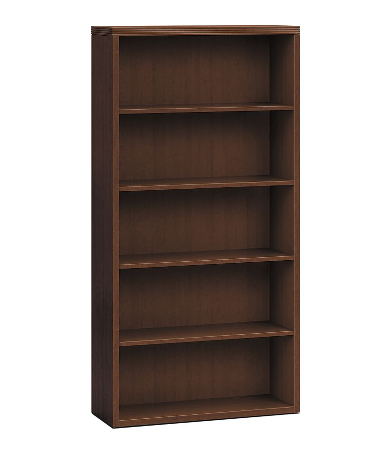 HON Valido Bookcase Brown Front Side View H11555.A.FF