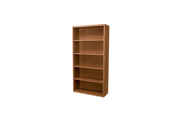 HON Valido Bookcase Bourbon Cherry Front Side View H11555.A.HH