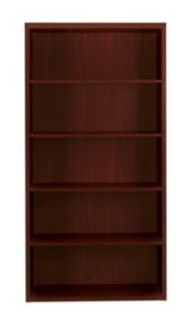 HON Valido Bookcase Mahogany Front Side View H11555.A.NN