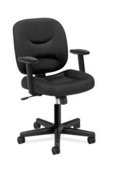 valutask mesh back task chair center tilt adjustable arms