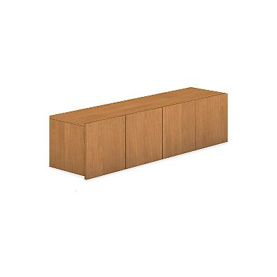 HON Voi Overhead Cabinet Harvest Color Front Side View HLSL1460D.C.C.X