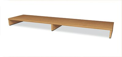 HON Voi Layering Shelf Harvest Color Front Side View HLSL1460LS.C