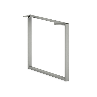 HON Voi O-Leg Worksurface Support Gray HLSL3028O.T1