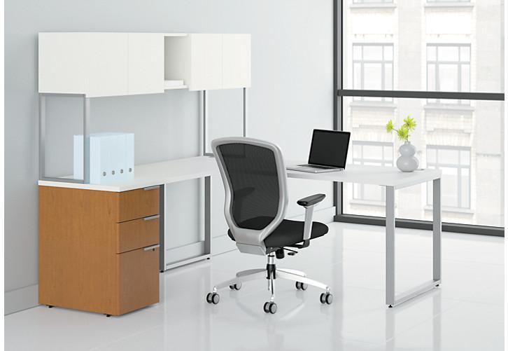 voi l-workstation vc7272l1b | hon office furniture