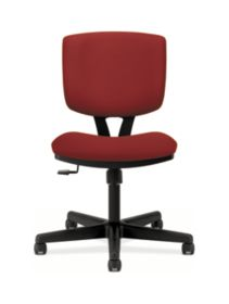 HON Volt Task Chair Red Armless Front View H5703.GA42.T
