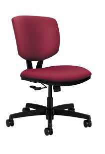 HON Volt Task Chair Poly Centurion Inertia Mulberry Front Side View H5721.H.NR60.T