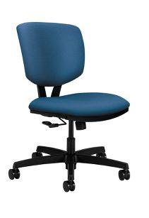 HON Volt Task Chair Poly Centurion Inertia Regetta Front Side View H5721.H.NR90.T
