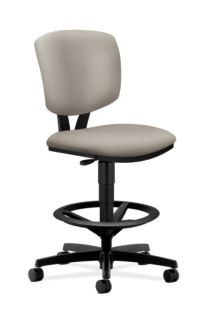 HON Volt Task Stool White Armless Front Side View H5725.H.NR20.T