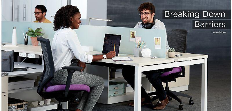 HON Office Furniture Breaking Down Barriers