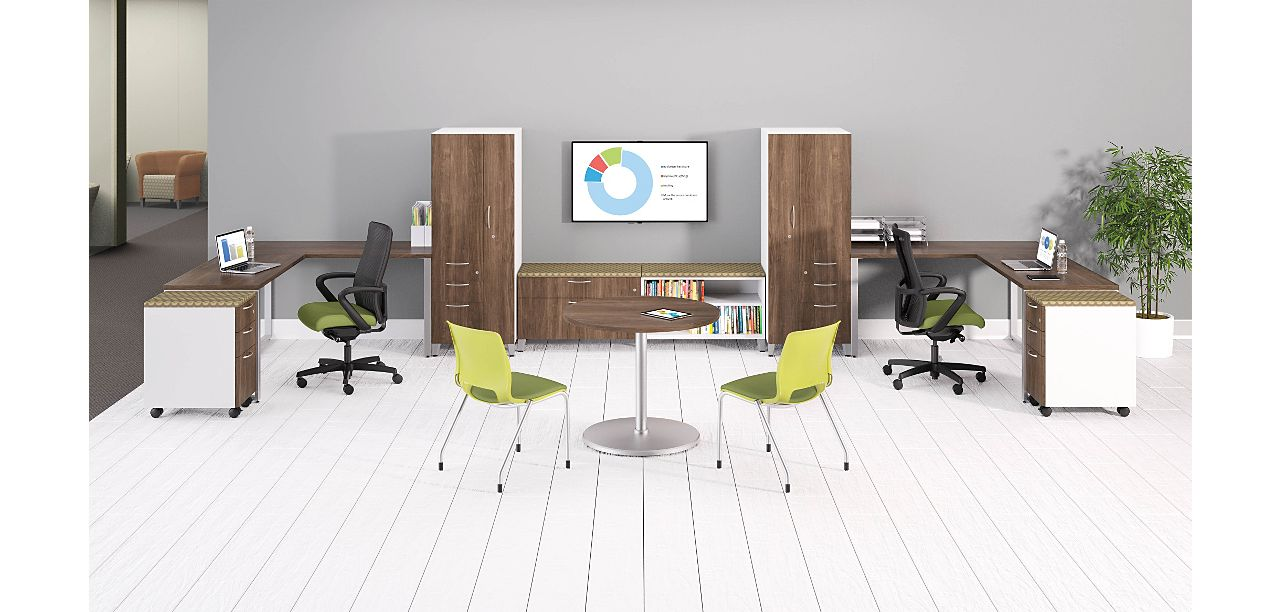 Versatile Credenzas Match Any Workstylewhen E Is Limited Storage Components Must Be Multi Functional And Efficient