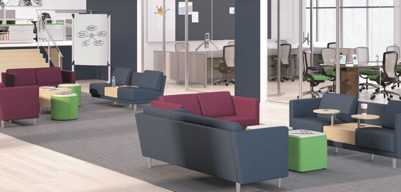 Office furniture reception reception waiting room furniture Lobby Grove Reception Chairs Walmart Collaborative Public Spaces Hon Office Furniture