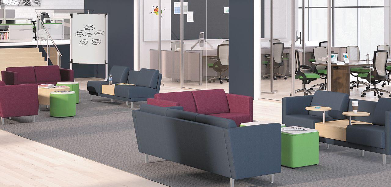 Collaborative Public Spaces Hon Office Furniture