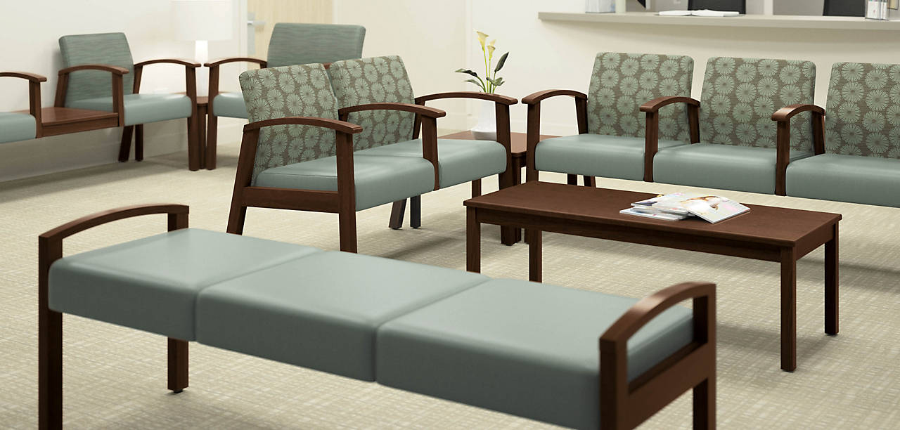 Versant Chairs in an Healthcare Lounge