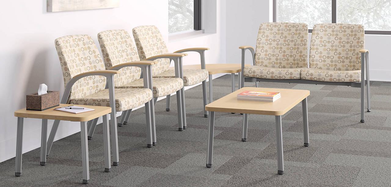 Soothe Chairs in a Doctors Waiting Room