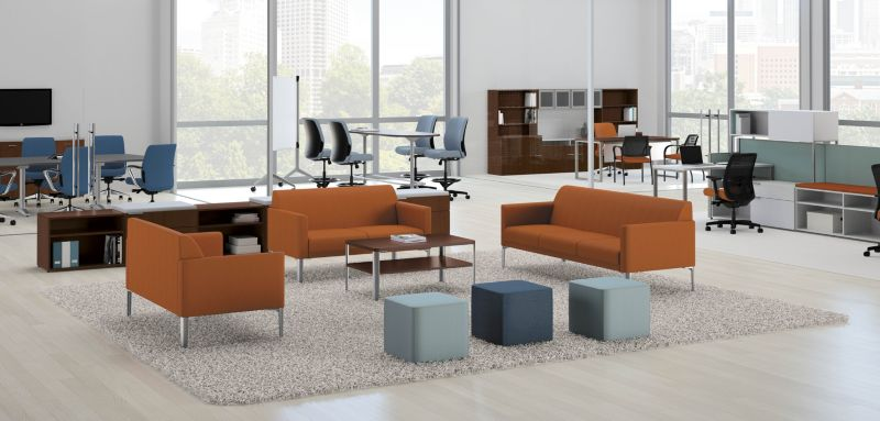 Endorse Lounge Chairs with Accelerate Systems