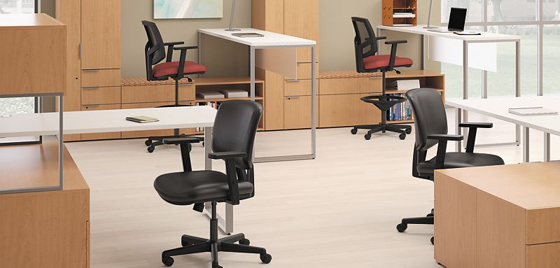 Volt Chairs with Volt Chair Arm Pack Accessory