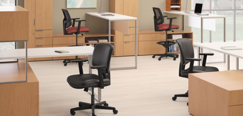 Volt Chairs with Volt Chair Arm Pack Accessory & Chair Accessories | HON Office Furniture