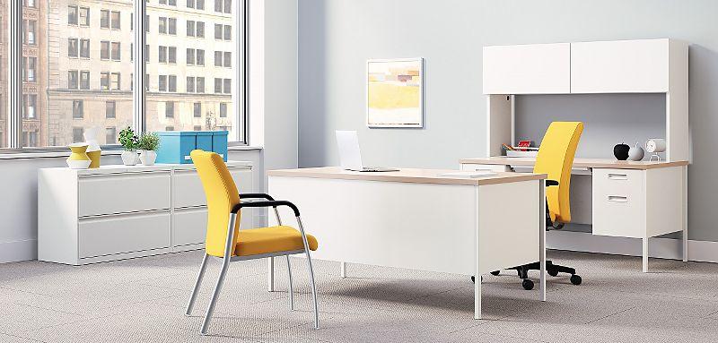Metro Classic Desk in White