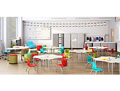 SmartLink Classroom Chairs and Desks