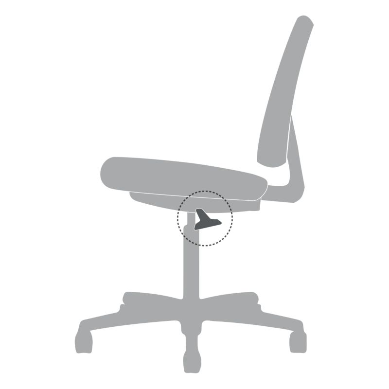 office chair hydraulic diagram what is tilt lock in a chair  hon office furniture  what is tilt lock in a chair  hon