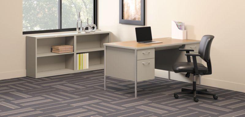Mentor Desks with Brigade Storage