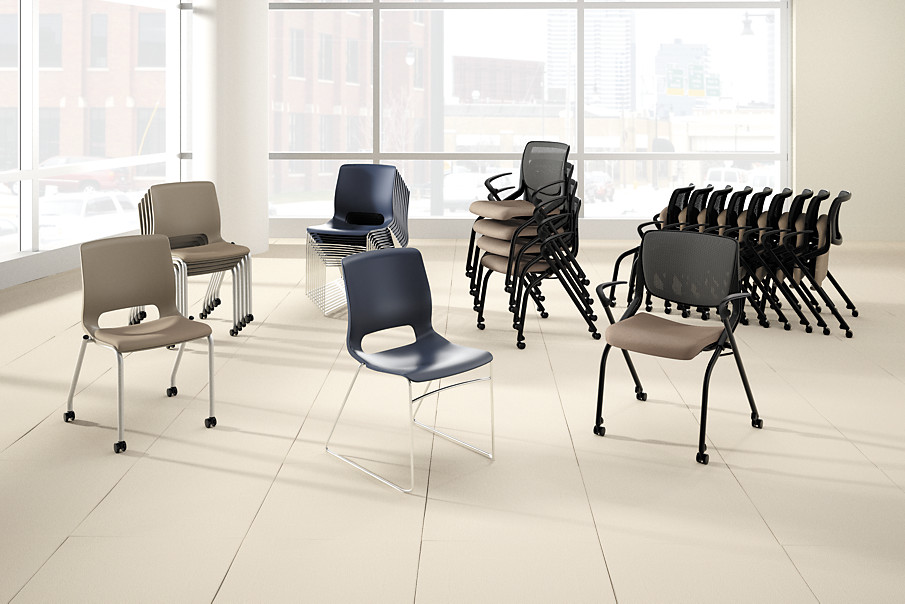 Motivate Family of Chairs