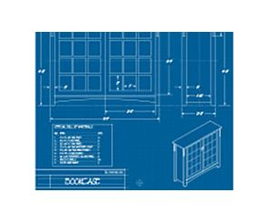 Office Furniture Blueprint image