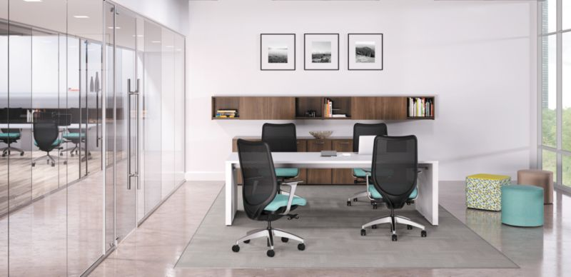 Preside Conference Table for 4 People in an office