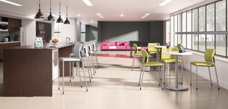Preside Tables and Accommodate Chairs