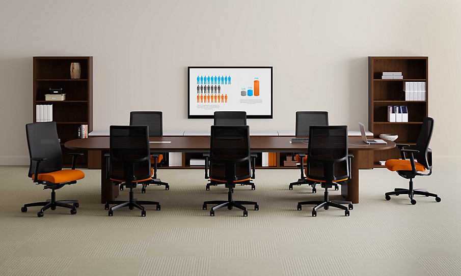 Preside HON Office Furniture - Hon racetrack conference table