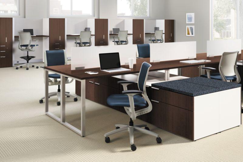 Purpose Chairs with Voi Desks