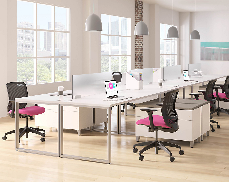 Quotient Chairs and Voi Workstations
