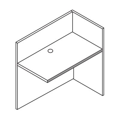 Serial Number Locator - Desks, Credenzas, Corner Units, Bridges, Returns Without Drawers