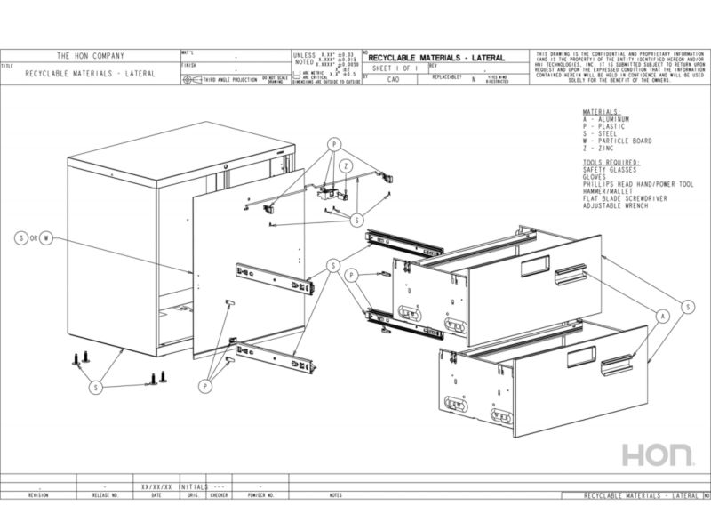 Storage Disassembly Instructions