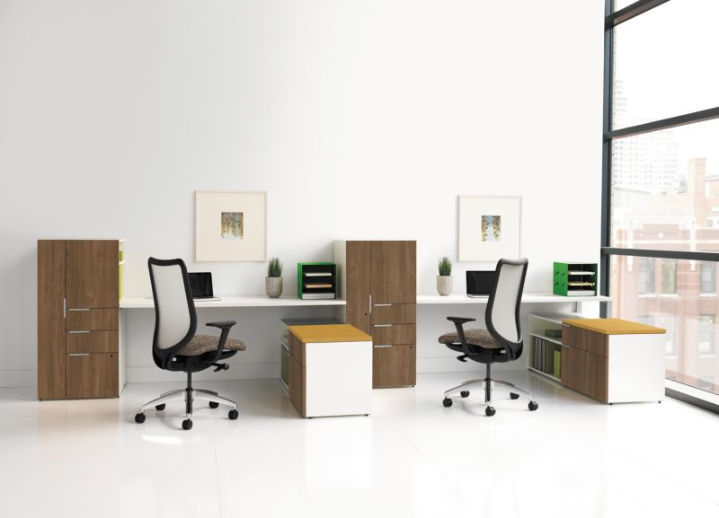 Touchdown Station with Nucleus Office Chair