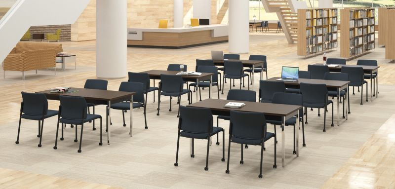 Accommodate Chairs in a Library Setting