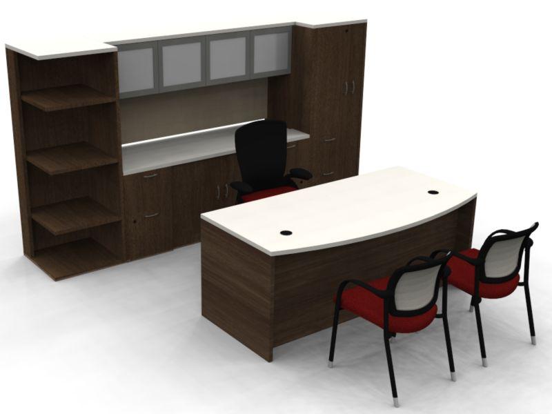 Valido - Desk & Credenza