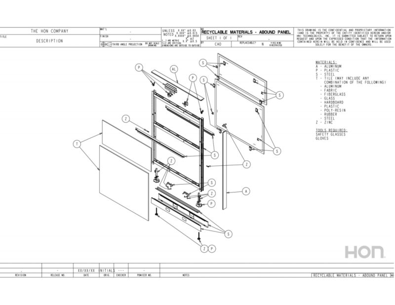 Workstations Disassembly Instructions