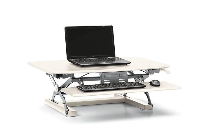 Coordinate Portable Desktop Riser With Keyboard Tray